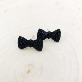 Black Tie Earrings