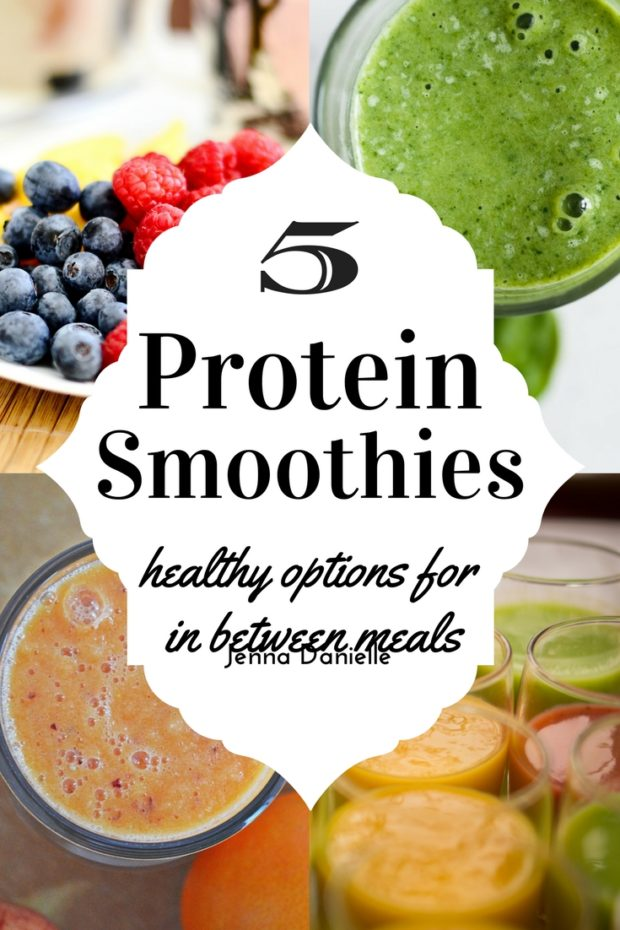 5 healthy protein smoothies for in between meals