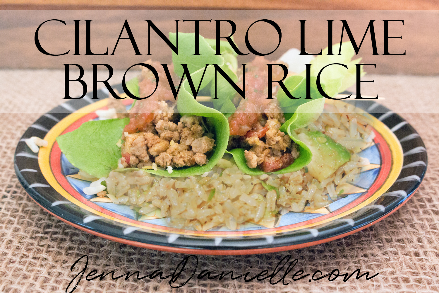 Delicious cilantro lime brown rice perfect for any fiesta!