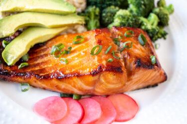 miso glazed salmon recipe