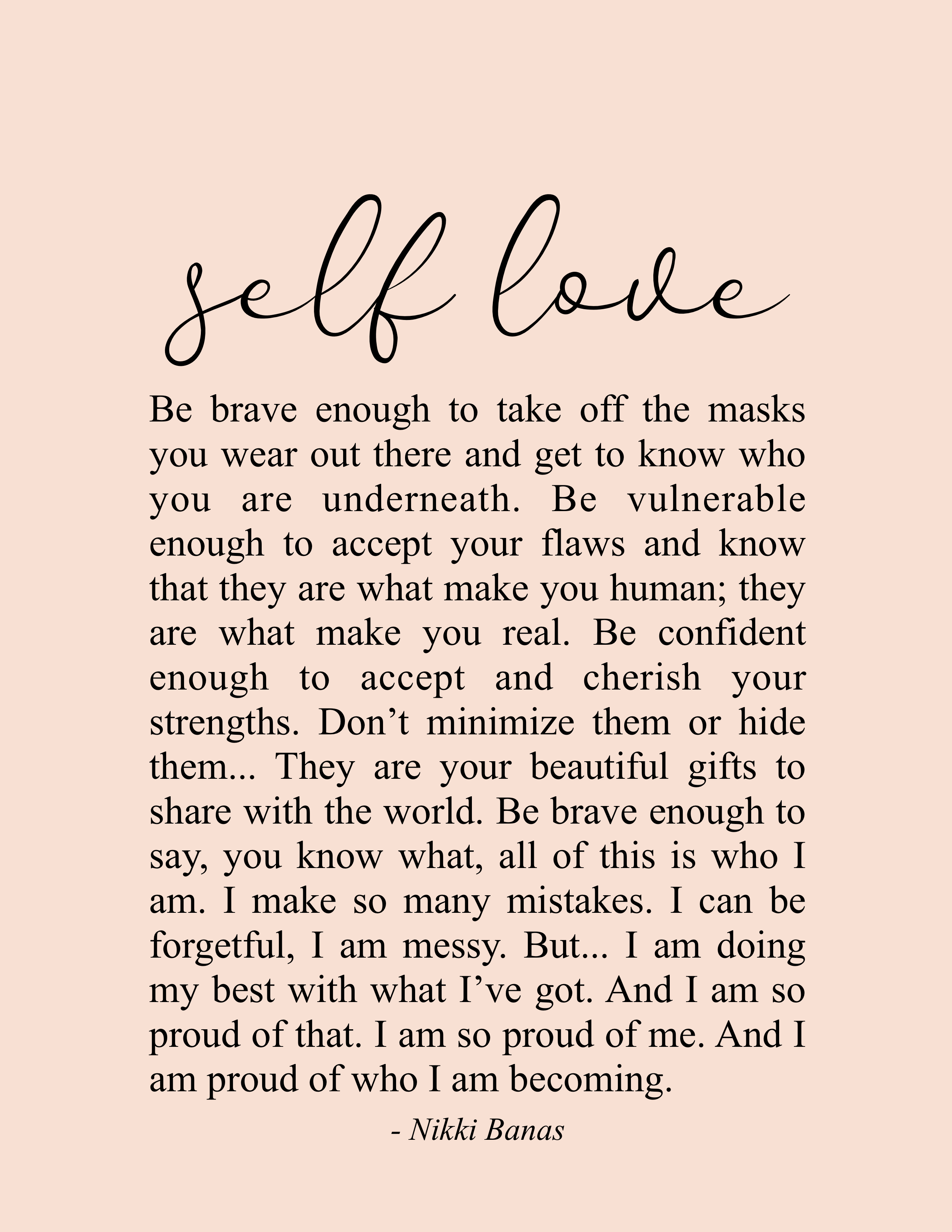 self love quotes images