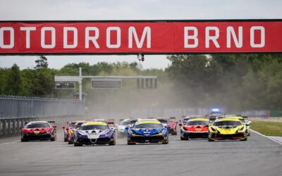 EMS Race Team Earns Double Podium in Czech Republic to Lead Season Series