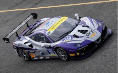 EMS Race Team Takes Series Lead to Belgium for Ferrari Races at Spa