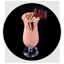 brownie chocolate milkshake