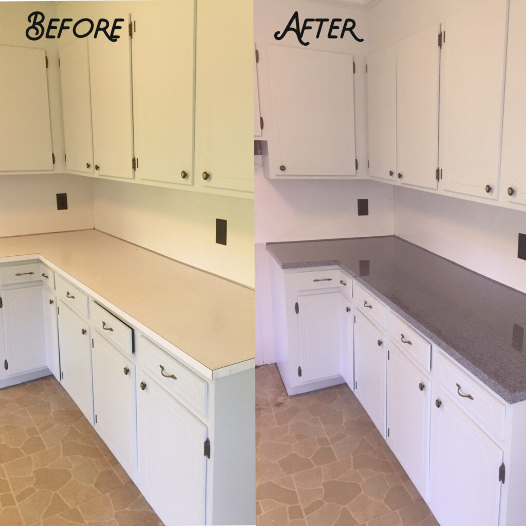 Old kitchen restored to brand new