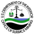 Department of the Interior Office of Surface Mining logo
