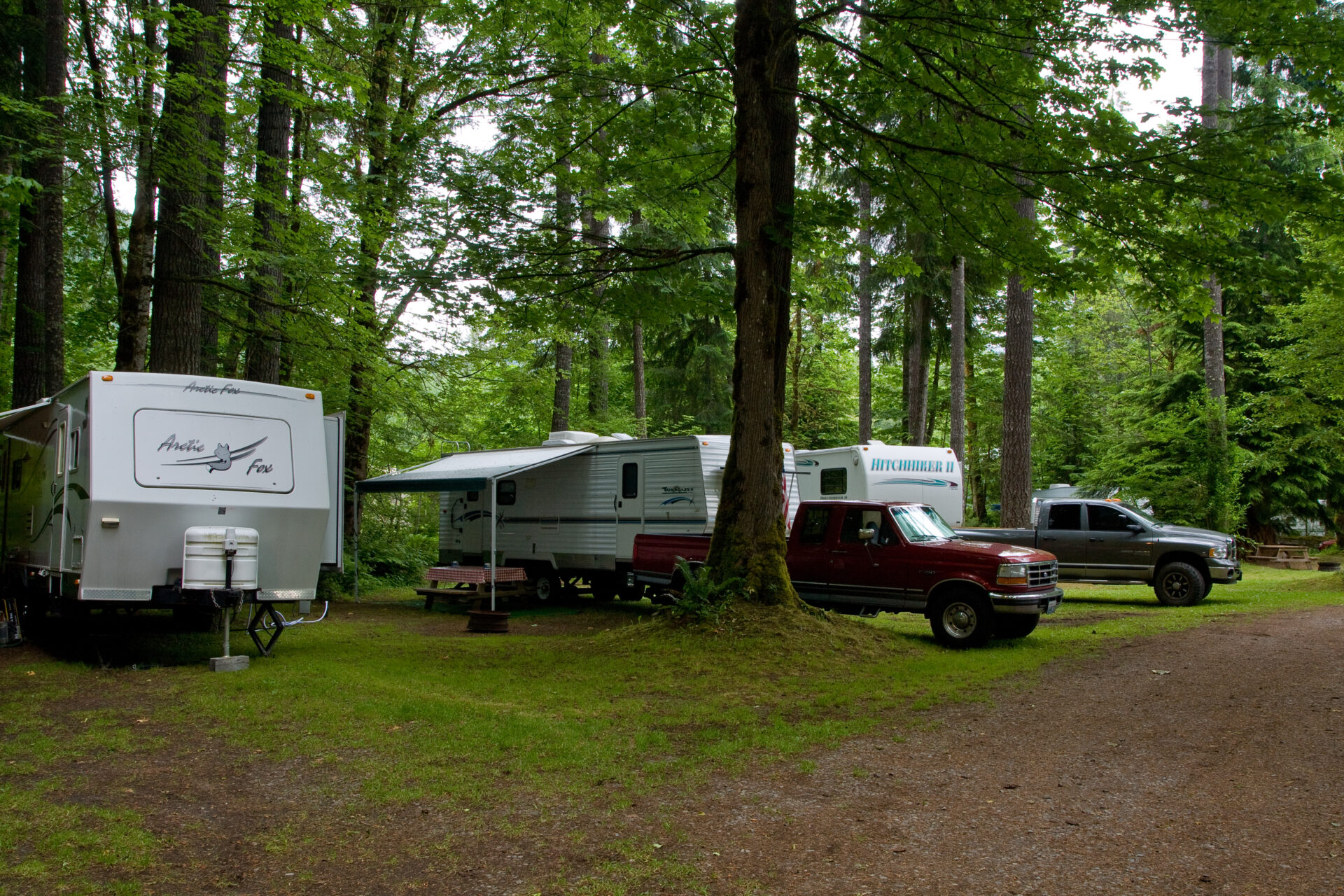 Tower Rock U-Fish R.V. Wooded RV Campground