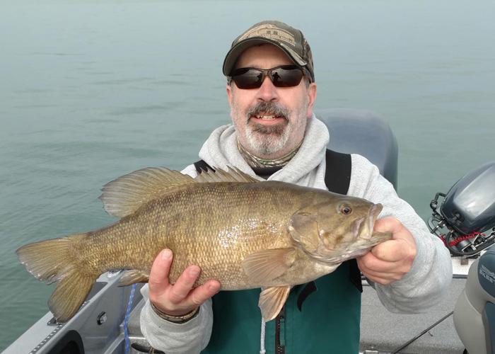 Captain Barry Schultz Smallmouth Bass