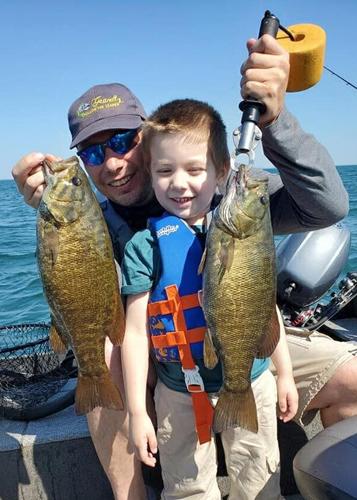 Lake Erie Smallmouth Bass
