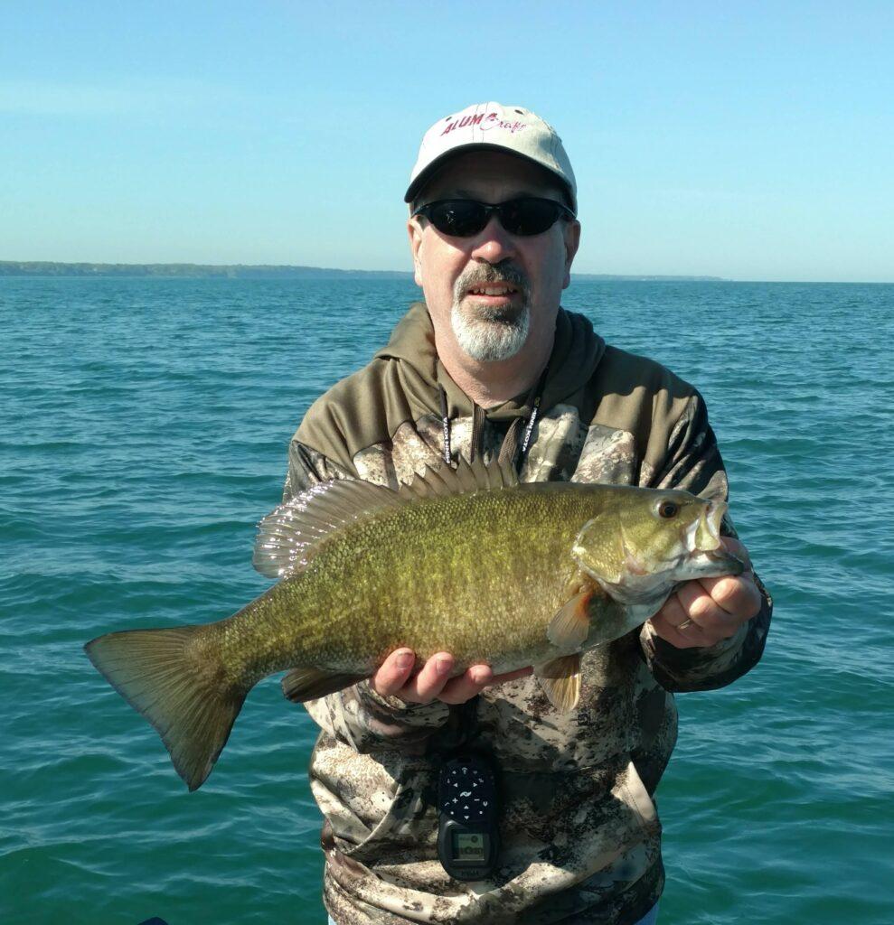 Captain Barry Schultz Smallmouth Bass 2019 fishing photos