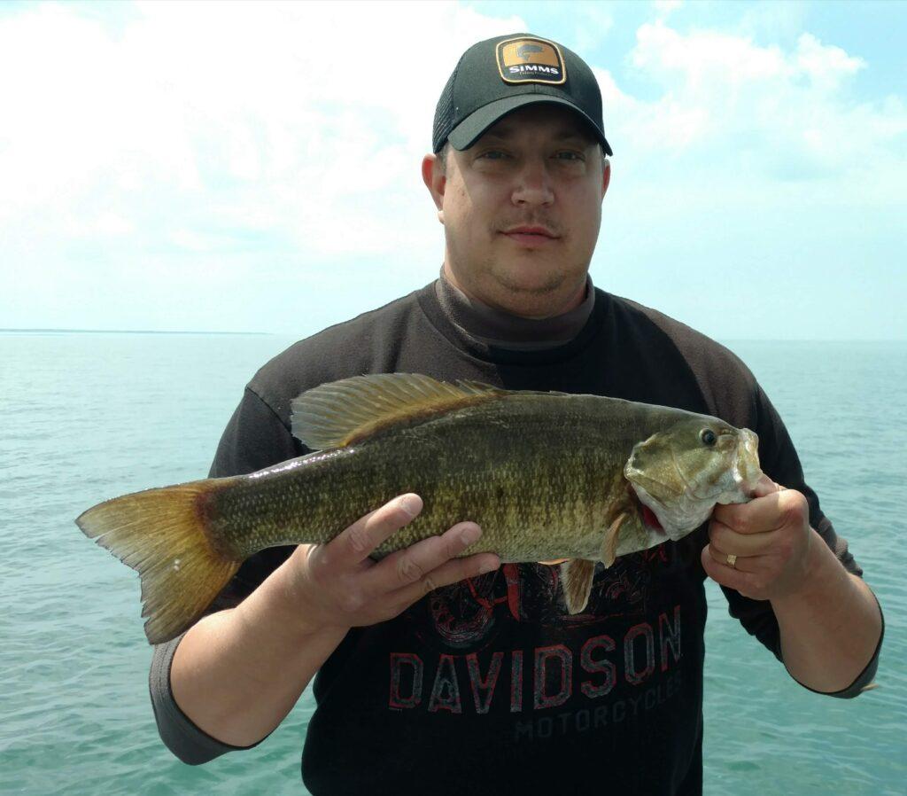 Lake Erie Smallmouth Bass 2019 fishing photos