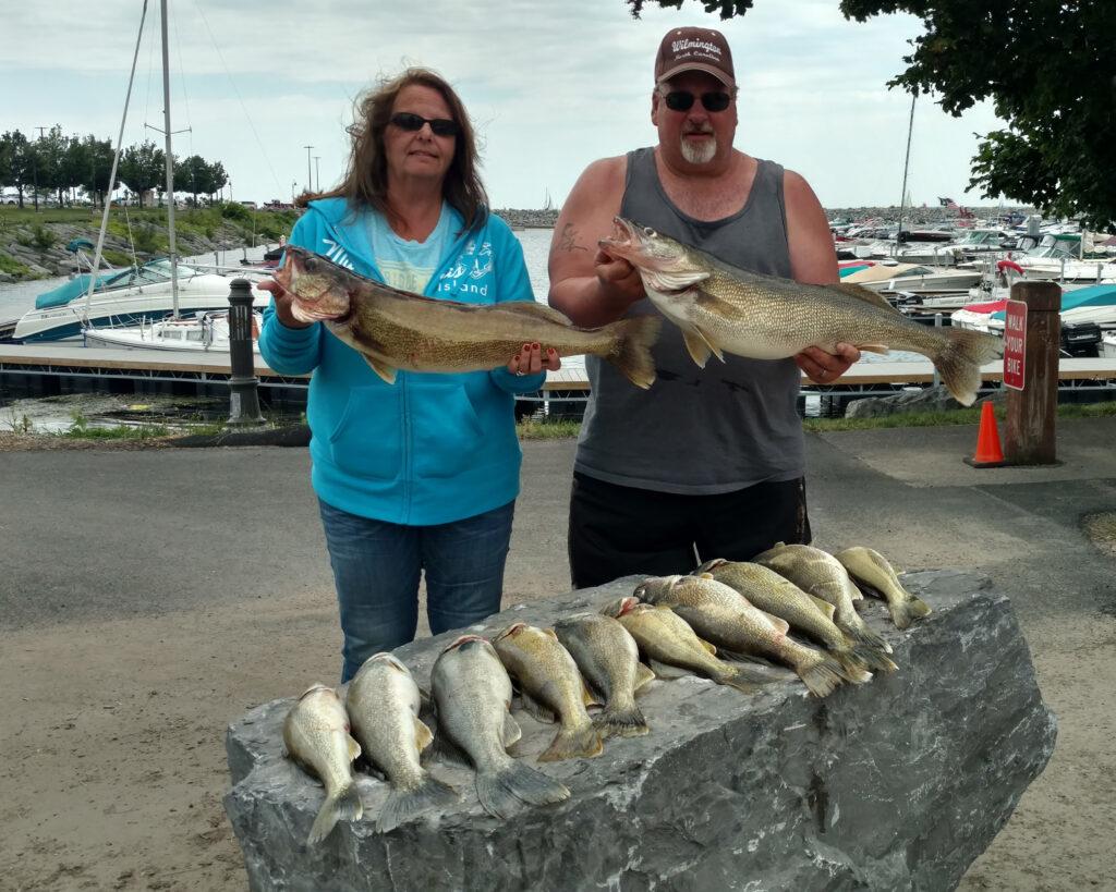 Lake Erie Walleye 2017 fishing photos