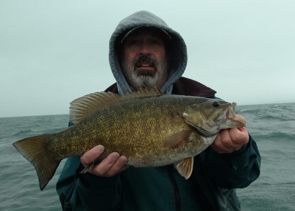 Captain Barry Schultz Smallmouth Bass 2017 fishing photos