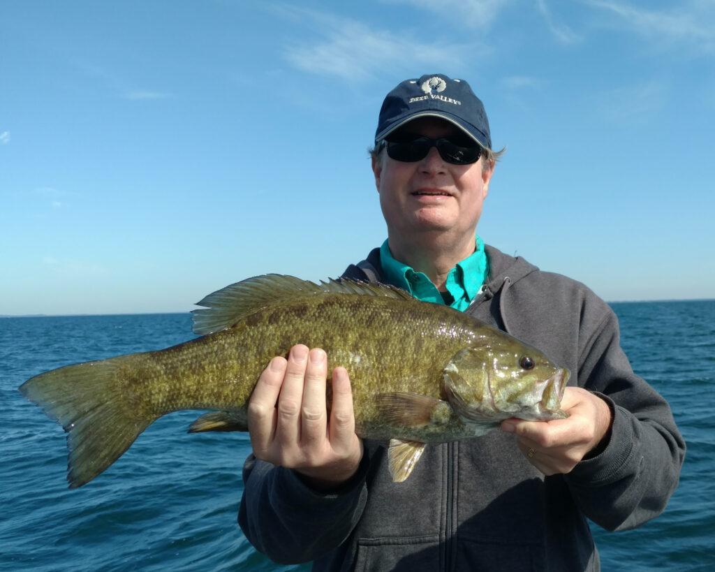 Lake Erie Smallmouth Bass 2017 fishing photos