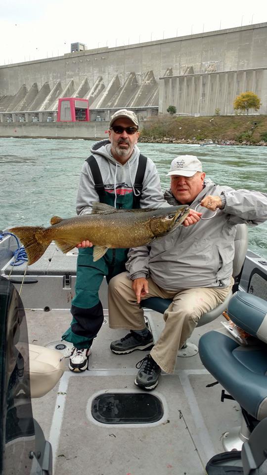 Niagara River King Salmon 2017 fishing photos