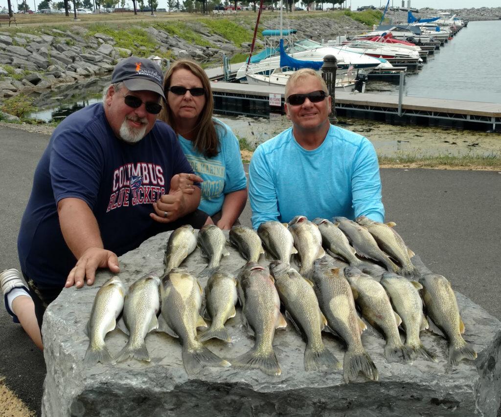 Lake Erie Walleye 2018 fishing photos