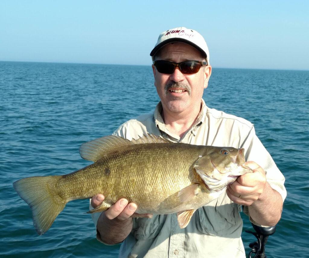 Captain Barry Schultz Smallmouth Bass 2018 fishing photos