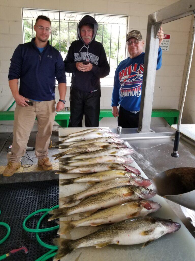 Lake Erie Walleye 2019 fishing photos