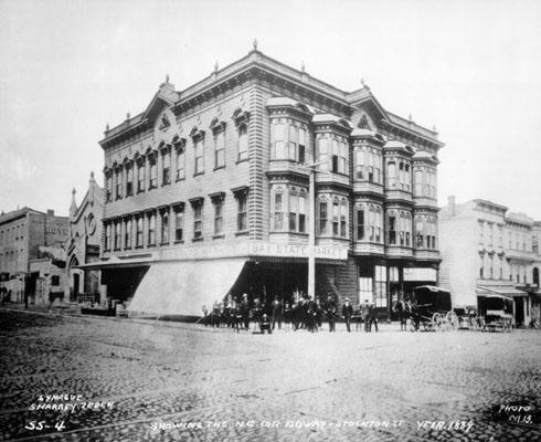 1300 Stockton Street, San Francisco, 1889