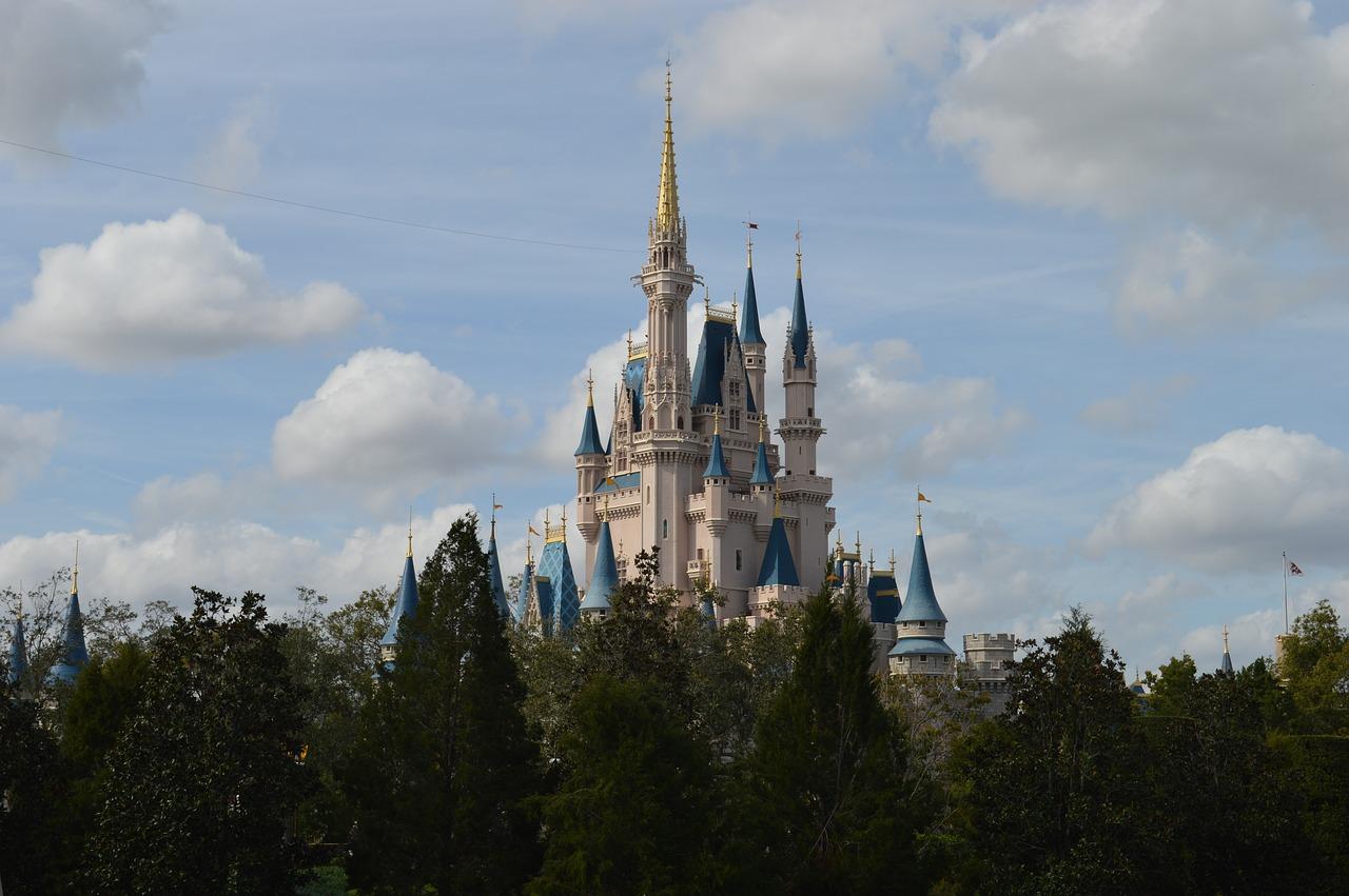 disney world, magic kingdom, cinderella's castle