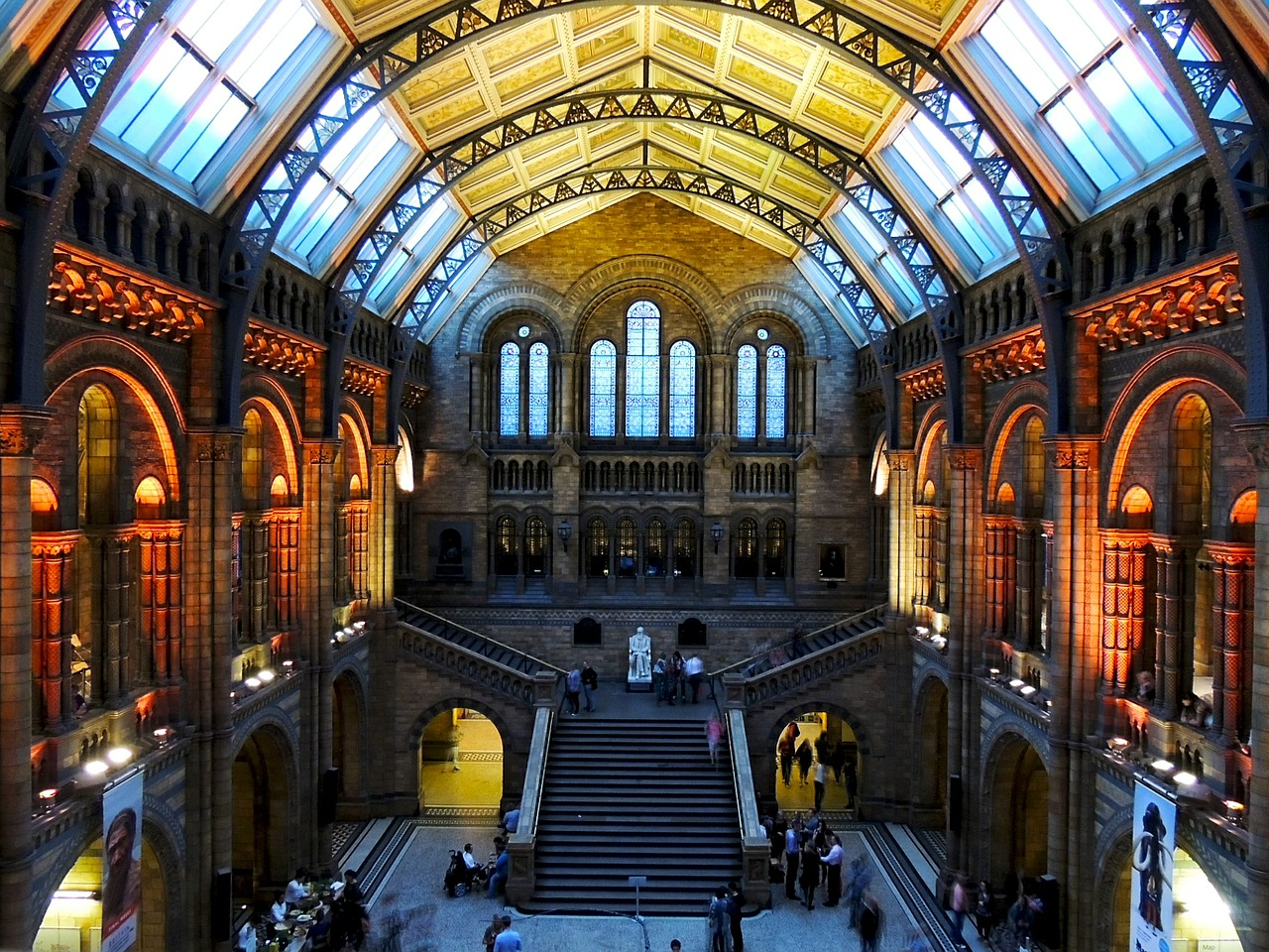 natural history museum, london, architecture