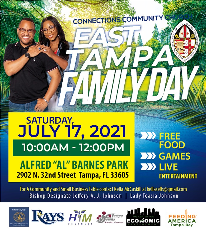 """East Tampa Family Day @ Alfred """"AL"""" Barnes Park"""