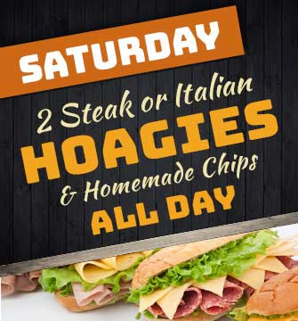 2 Hoagies & Chips special