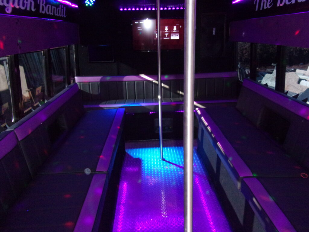 New York Party Buses Bennington Bandit. A look inside the party bus.