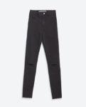 zara high waisted black jeans