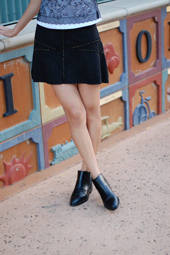 zara shirt and skirt bottom