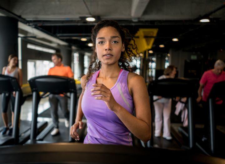 Many rude gym behaviors involve the use of shared equipment.