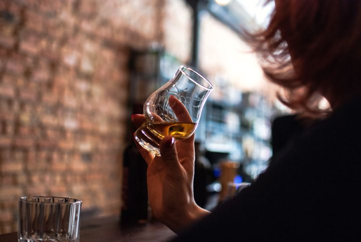 Women's sexual arousal can also suffer from too much alcohol.