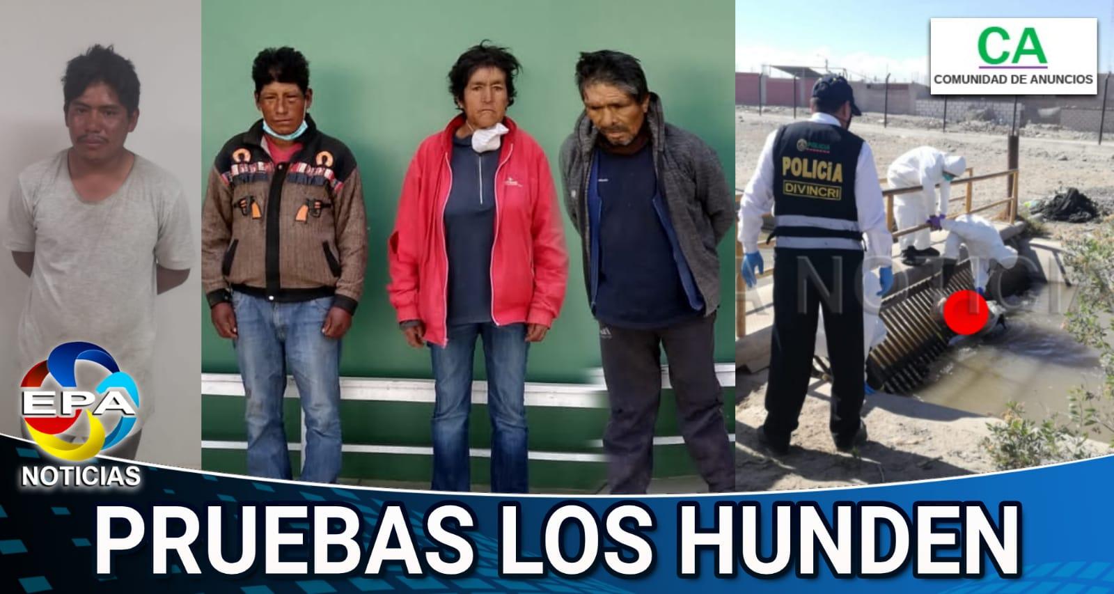 Arequipa. Cuatro implicados en muerte de obrero en la ciudad de Majes.