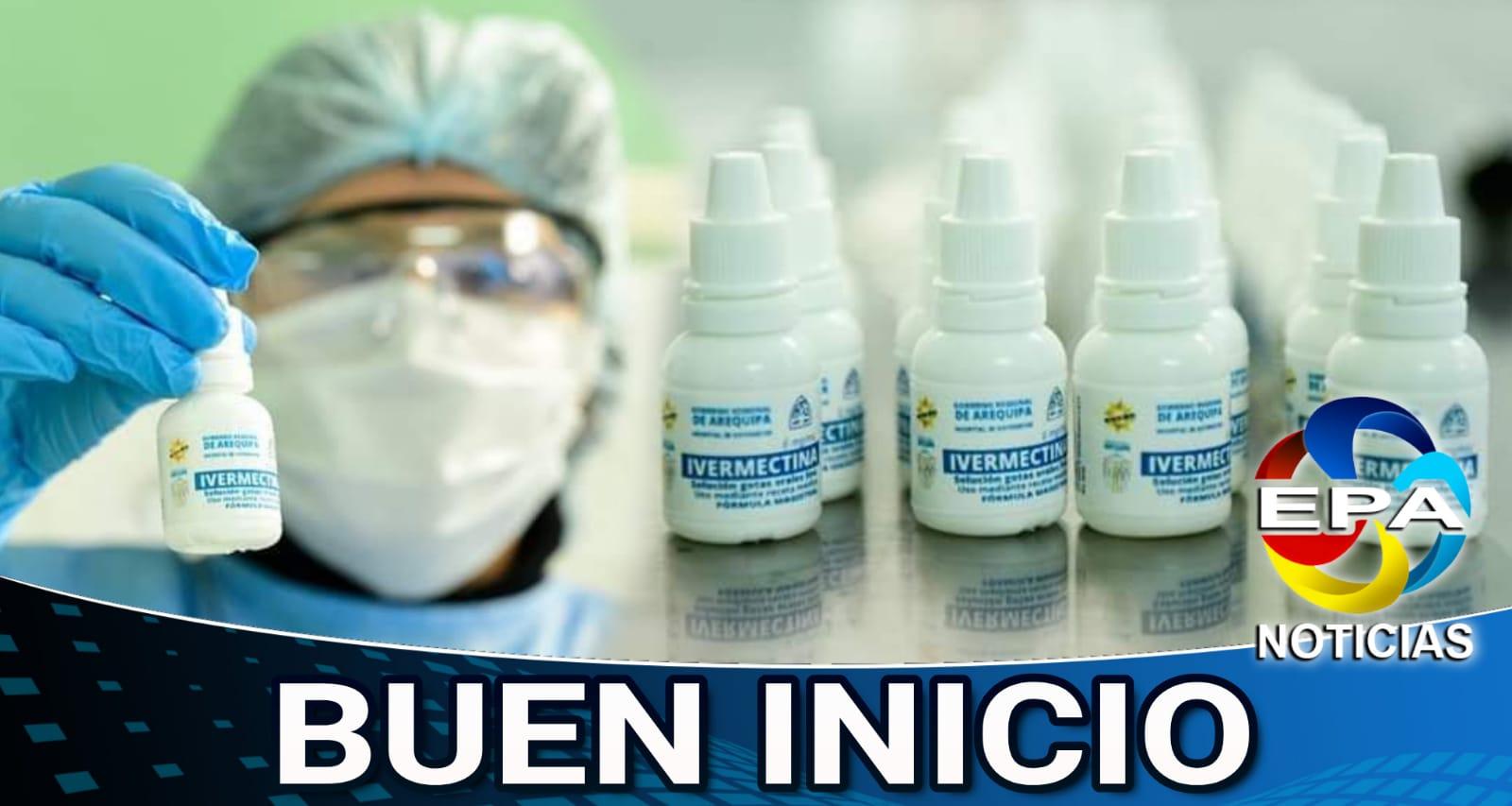 Arequipa. En hospital Goyeneche ya producen Ivermectina