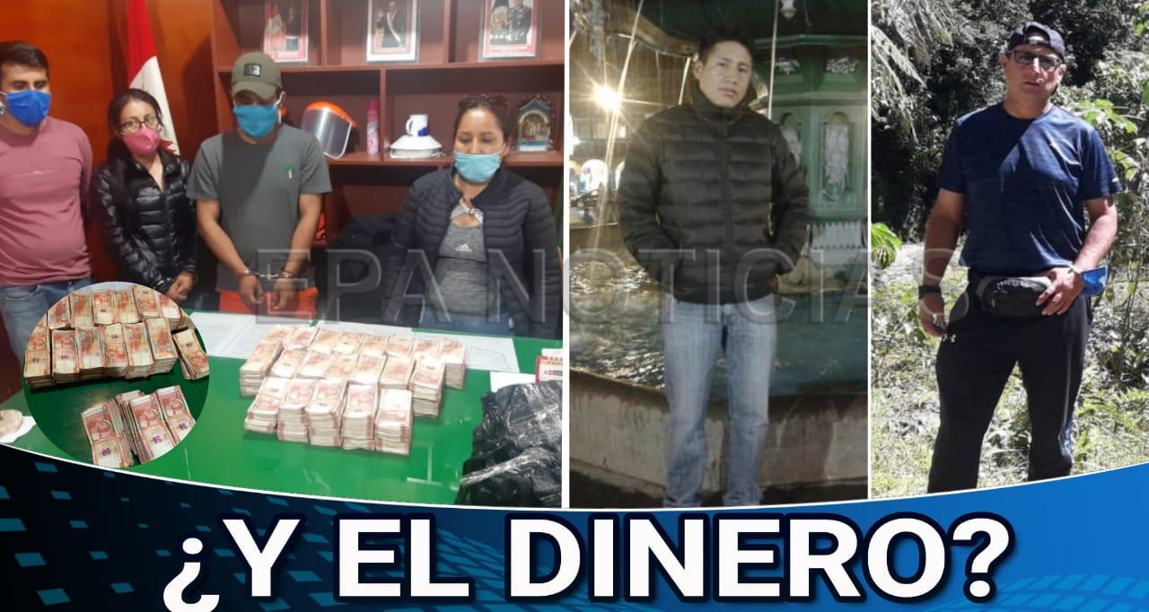 MADRE DE DIOS. DOS POLICIAS SON ACUSADOS DE ROBAR UN MILLÓN DE SOLES