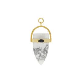 Amuleto Chakra Howlita