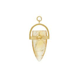 Amuleto Chakra Citrino