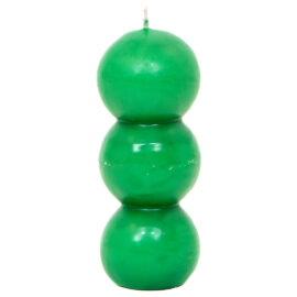 Vela Eco Bolas Verde