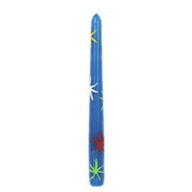 Vela Castiçal Pinga Azul
