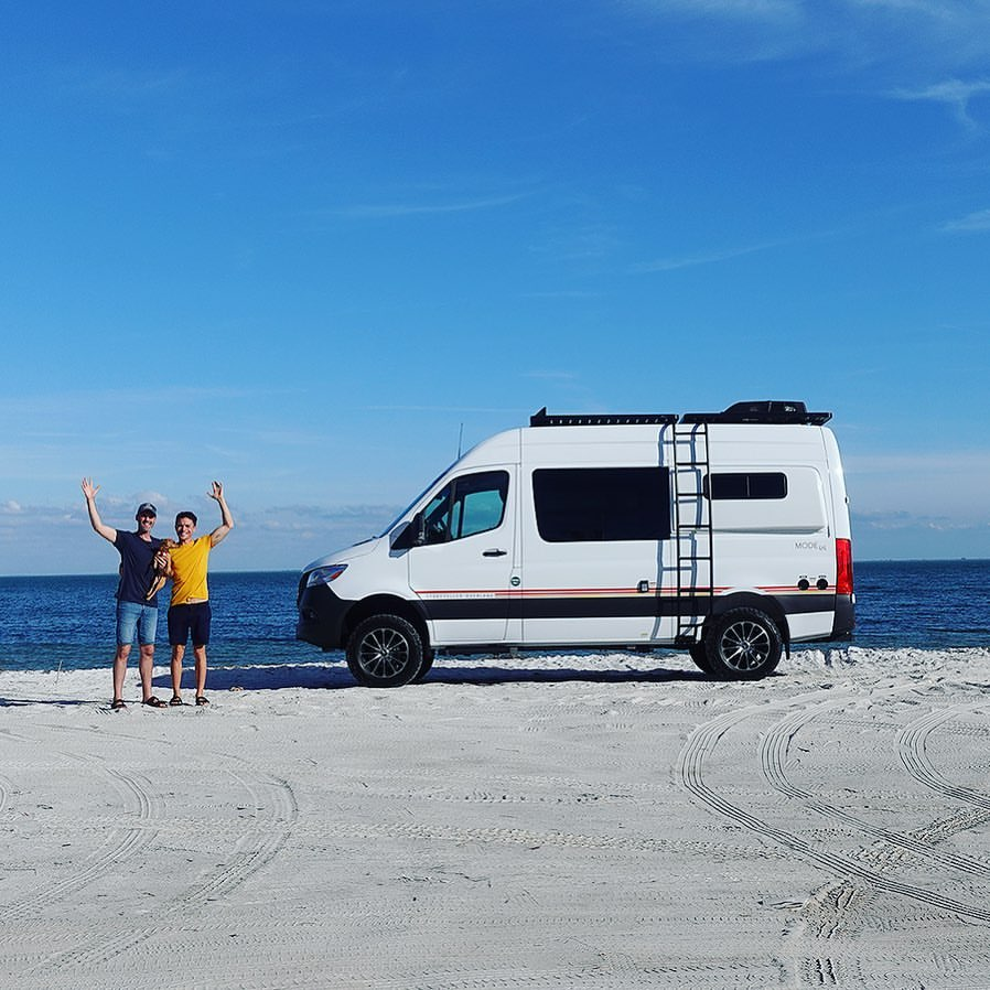 Chad and Paul People living the Vanlife