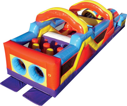 Monster Obstacle Course