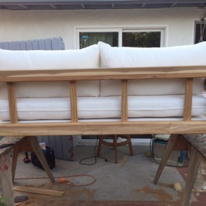 PROGRESS PIC STUDIO 9 CUSTOM OUTDOOR SOFA