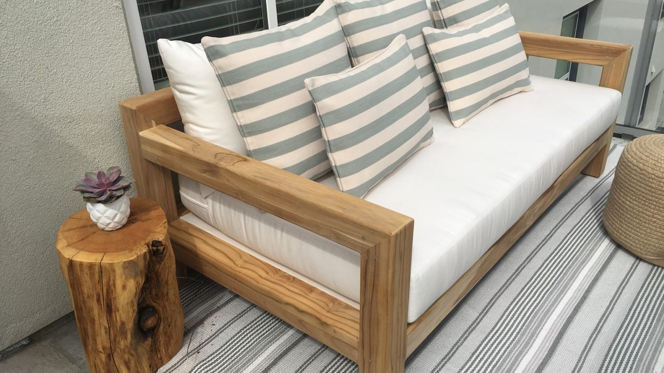 Custom Outdoor Sofa