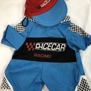 Race care driver outfit and hat