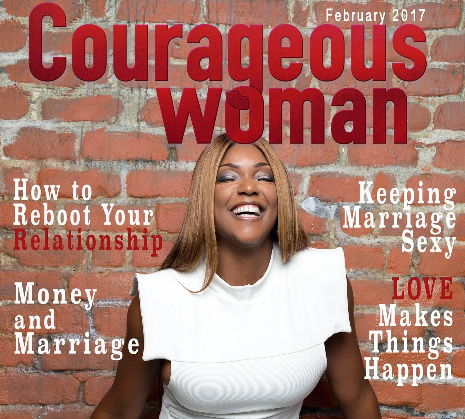 Courageous Woman Magazine Cover Story: A Conversation with Ms. Hitch The Mental Toughness Love Coach