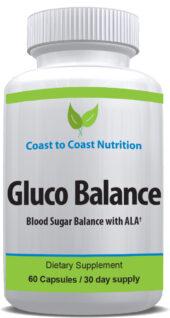 Gluco Balance blood sugar support supplement