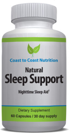 Natural Sleep Support daily supplement