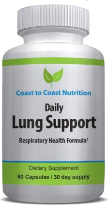 Lung health vitamins