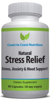 Relief for stress and anxiety