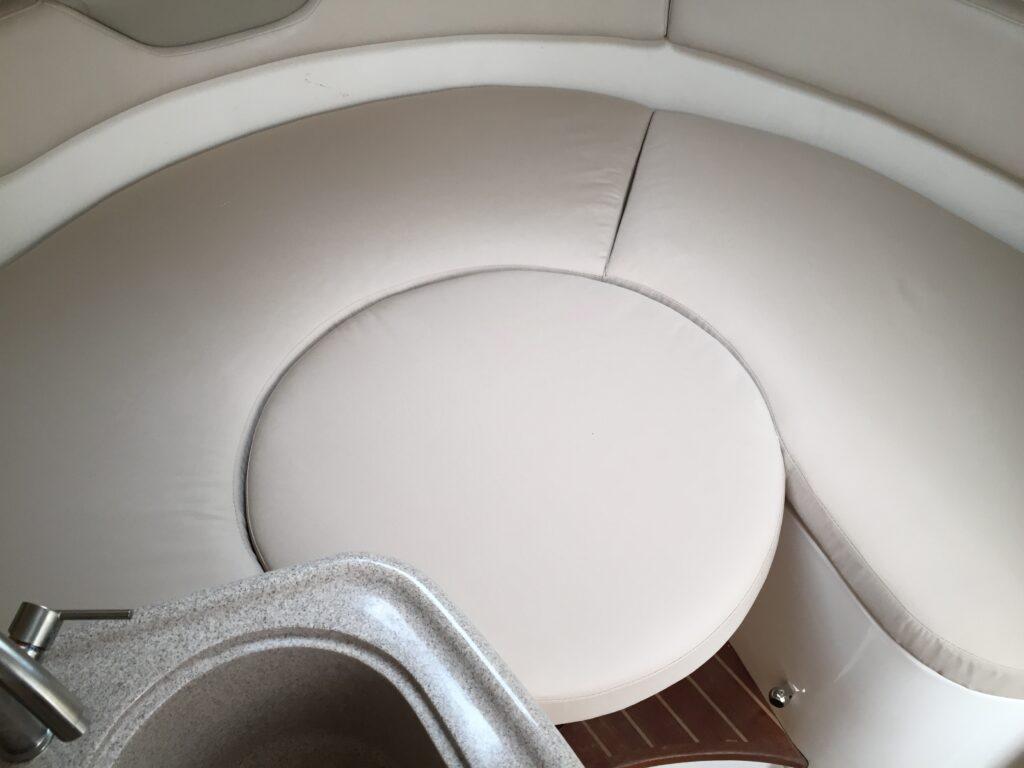 Custom interior cushions